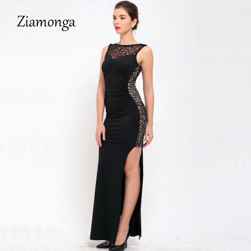 Товар Robe De Soiree Elegant Long Evening Party Dresses 2017 Black ... ca7115152981