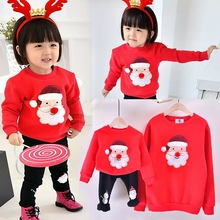 Family Matching Clothes 2017 Christmas Sweater Dress For Father Mother Son Daughter Baby Mon Dad Outfits Hoodies Family Look