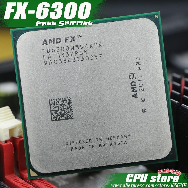 AMD FX 6300 AM3 3 5GHz 8MB 95W Six Core CPU processor FX serial pieces FX