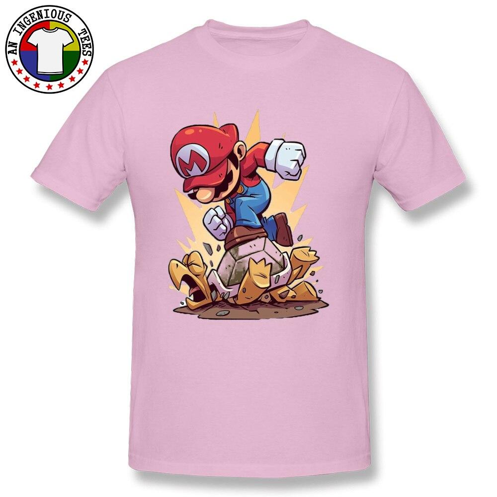 DesignCustomized Short Sleeve Tops Shirts Summer Discount O Neck All Cotton T Shirt Men's T-Shirt Sonnenschirme 4504  Sonnenschirme 4504 pink