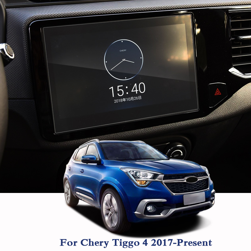 For Chery Tiggo 4 2017-2019 GPS Navigation Screen Glass Protective Film Dashboard Display Protective Film Internal Accessories