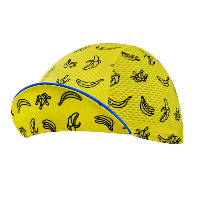 NEW Men and Women Banana pattern yellow Cycling Caps / Scarfs / Headwear MTB / ROAD Bike Riding One-Size