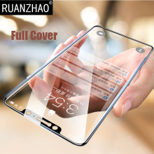 RUANZHAO Tempered Glass For Samsung A8Plus Screen Protector Case Film For Galaxy A8 2018 J8 Protective Glass Film J7Pro A8 plus