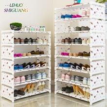 Many Layers Shoe Rack Non woven fabric Easy Assemble organize Storage Shelf Shoe cabinet fashion bookshelf Living Room Furniture