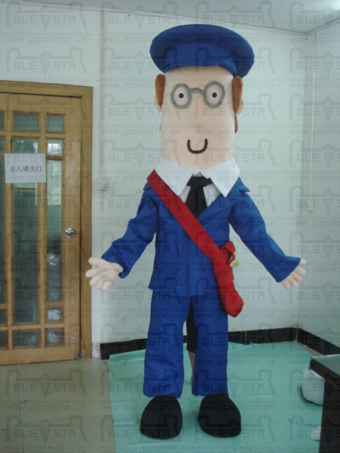 Cartero mascota trajes de dibujos animados post man pat trajes en ... 1422be3746e