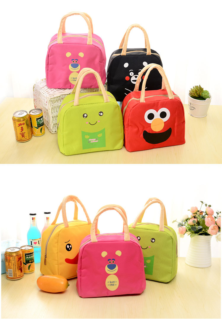 TypeStorage BagsSuitable forKitchen Outdoors Activities Travel GympicnicSylteconvenientFunctionretain freshnessheat preservationProductFood ...  sc 1 st  AliExpress.com & LDAJMW Cute Cartoon Lunch Bag Portable Insulated Cooler Bags Food ...