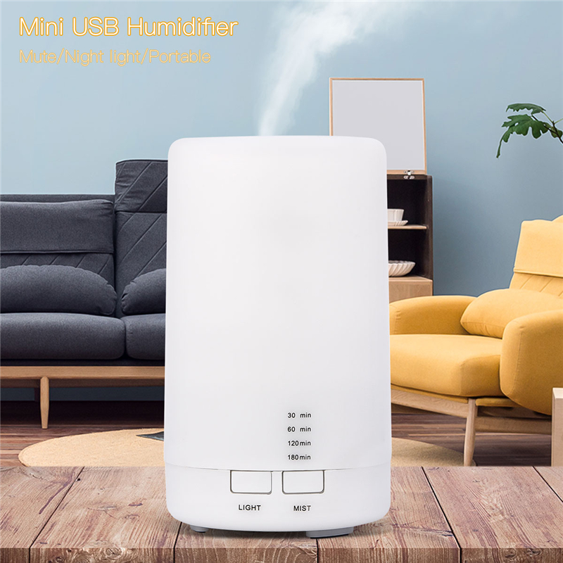 Ultrasonic Aroma Diffuser Mini USB Humidifier Household Office Air Purifier Essential Oil Diffuser Air Moistener With Timer 0