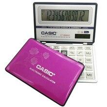 Large box folding calculator solar flip computer slim micro