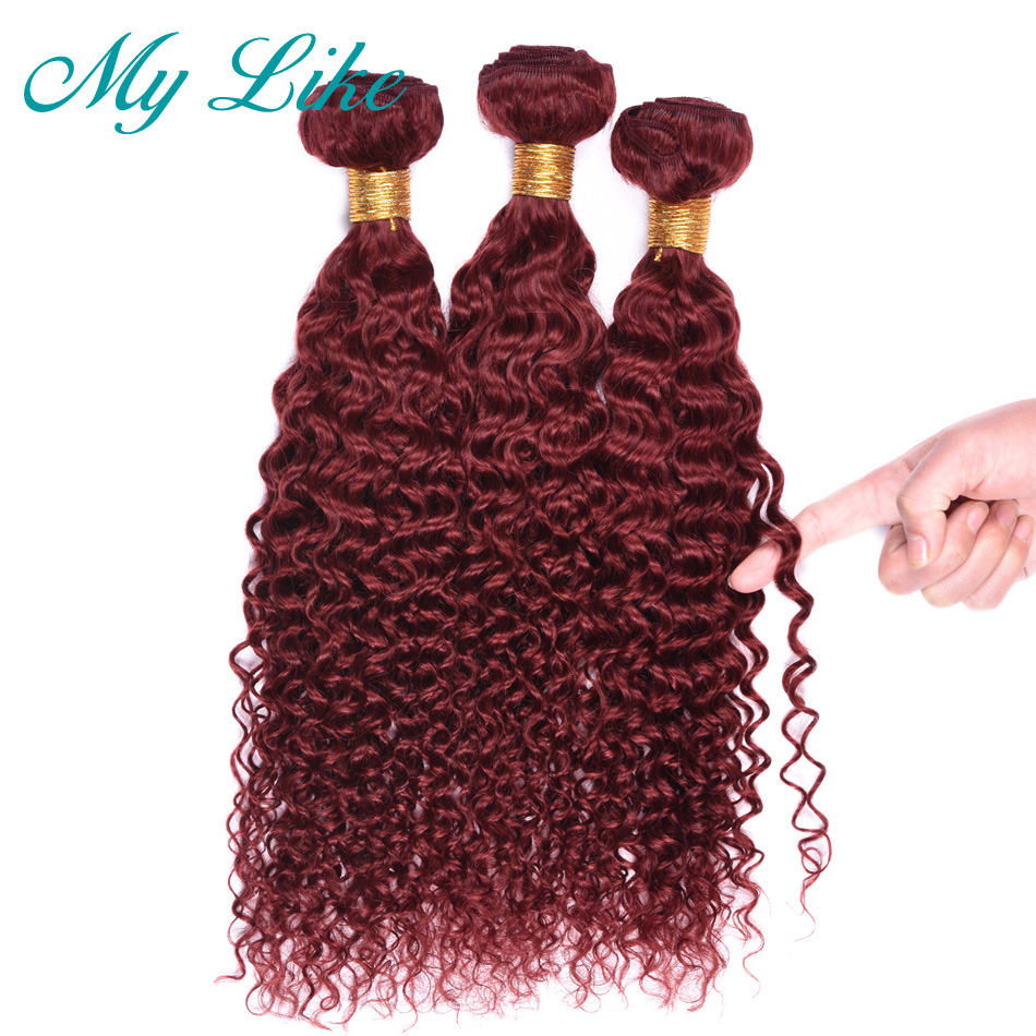My Like Pre Colored Human Hair Extension 33 10inch 24inch Brazilian