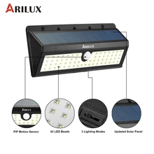 ARILUX AL-SL06 62 Motion Sensor Waterproof Solar LED Light