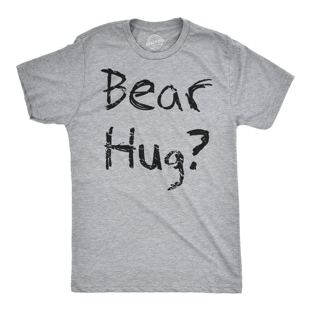 ec56eba27 Mens Grizzly Bear Flip T shirt Funny Bear Hug Shirt Humorous Novelty Tee  for Men Cool Casual pride t shirt men Unisex New