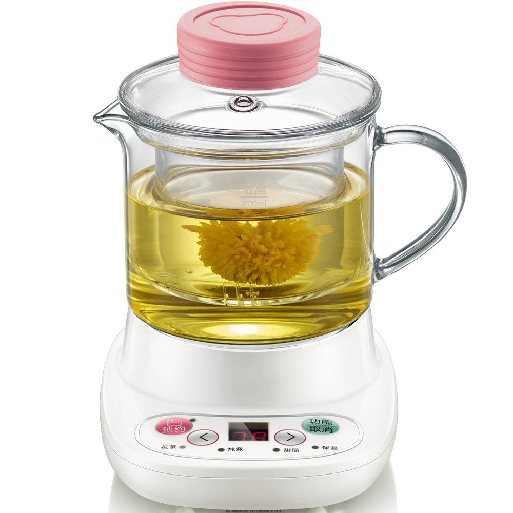 Health pot automatically thickened glass multi-functional mini electric cup flower office kettleHealth pot automatically thickened glass multi-functional mini electric cup flower office kettle