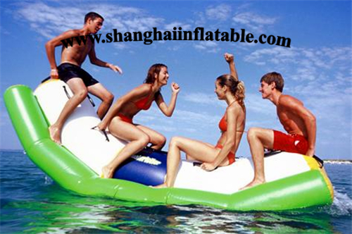 new design inflatable font b water b font seesaw flatable font b water b font totter