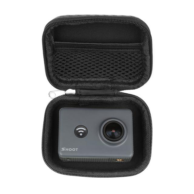 SHOOT Portable Mini Box EVA Bag Case for GoPro Hero 7 6 5 4 Xiaomi Yi 4K Lite Eken H9 H9r Action Camera Case Go Pro Accessories