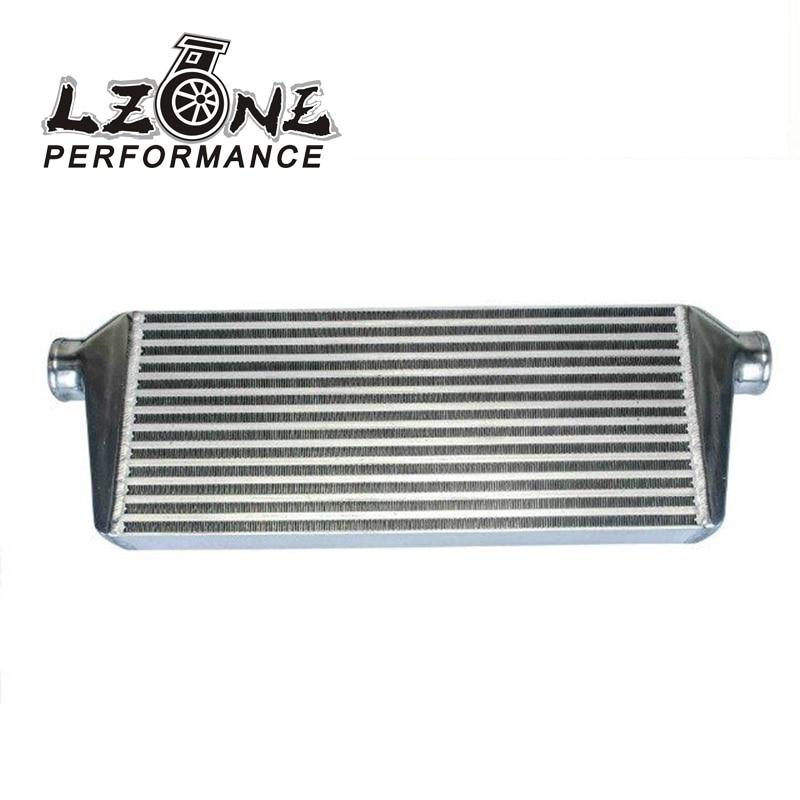 LZONE RACING - 550*230*65mm Universal Turbo Intercooler bar&plate OD=2.5 Front Mount intercooler JR-IN813-25 pivot 450x300x76 alloy turbo front mount intcooler bar