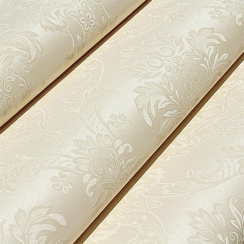 European Style French Pattern Modern Damask Design Wallpaper Emboss Texture Vinyl Pvc Wall Paper