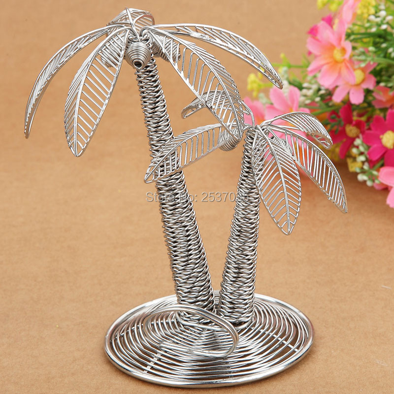 J6 COCOANUT TREE SCULPTURE/DECORATION/MODEL/PLANT CLIP STAINLESS HAND-MADE ART CRAFTS WEDDING&BIRTHDAY&HOME&OFFICE&GIFT&PRESENT