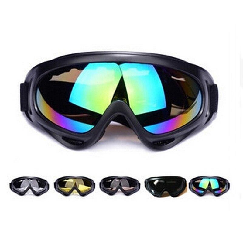 Лыжный Очки X400 очки зимой Лыжный спорт Сноуборд Велоспорт солнца Очки анти-шок для снегоходов маска Открытый Спорт Велосипедный Спорт очки