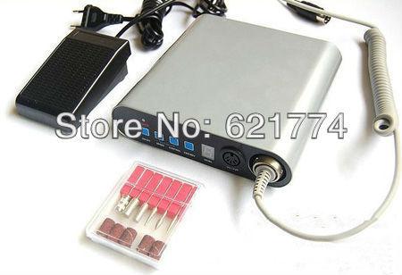 12W Ultrathin Manicure Pedicure Nail Art Polish Drill Electric Nail Manicure Machine Salon 220V EU Plug
