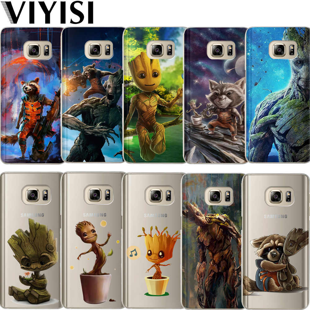 VIYISI Para For Samsung Galaxy s8 A5 2017 Case S9 Plus Capas Groot J7 J5 J3 A5 A3 2015 2016 2017 S6 S7Edge Fundas Coque Back