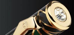 Image 5 - Pimio picasso dolma kalem 10k altın uçlu High end iş ofis hediye kutusu sanat ps 80 vidalı kapak moda rahat dolma kalem s