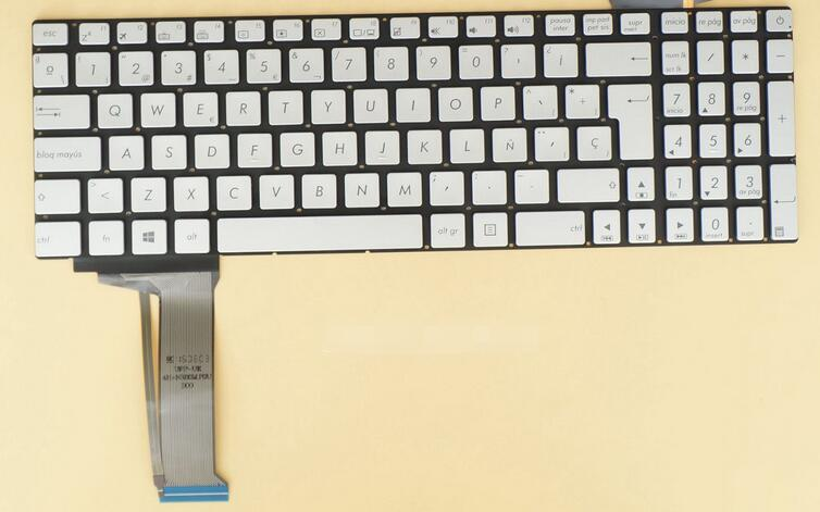 New keyboard for ASUS G551 GL551 GL552 GL771 N552 G771 N551 N752 GL752 N751 SPANISH/LATIN HISPANIC/RUSSIAN/ARABIC samsung rs 552 nruasl