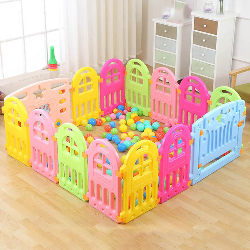 Baby Playpens Fence Kids Play Yard Barrier Fencing for Children Indoor Baby Fence Game Playpen Playhouse Game Play Fence