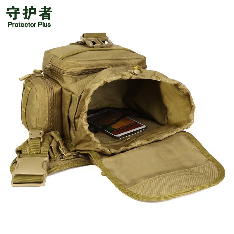 0681268db6 9 Colors Camera Bag Jambe Bolsillo Tactico Saddle Upgrade Camouflage 3C  Chest Pocket Belt Bag Messenger Men Military ...