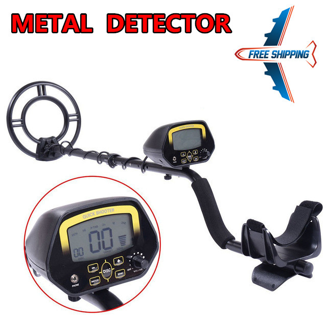 Underground Metal Detector MD3030 Treasure Hunter LCD Display Adjustable Gold Finder Digger Under Shallow Water High