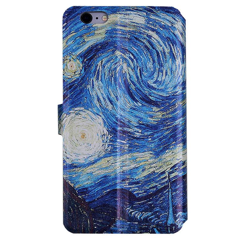 Flip telefoon case voor Xiao mi mi 5 c s 5 S plus x Schilderen FUNDAS Portemonnee stijl cover capa kaart voor Xio mi mi 5 mi 5C mi 5 S mi 5 splus mi 5X
