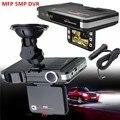 Nova MFP 5MP Câmera Do Carro DVR Recorder + Radar Detector de velocidade A Laser Trafic Alert Inglês & Russa