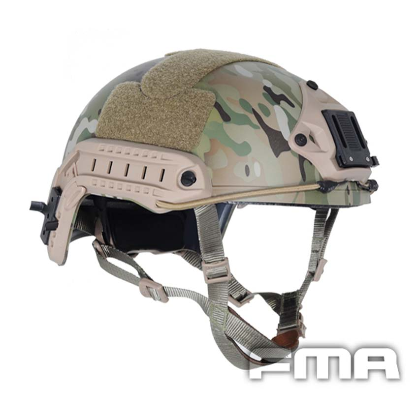 FMA Ballistic FAST Helmet Tactical Helmet Multicam TB460 M/L L/XL For Airsoft Paintball Free Shipping 2017new fma maritime tactical helmet abs de bk fg for airsoft paintball tb815 814 816 cycling helmet safety