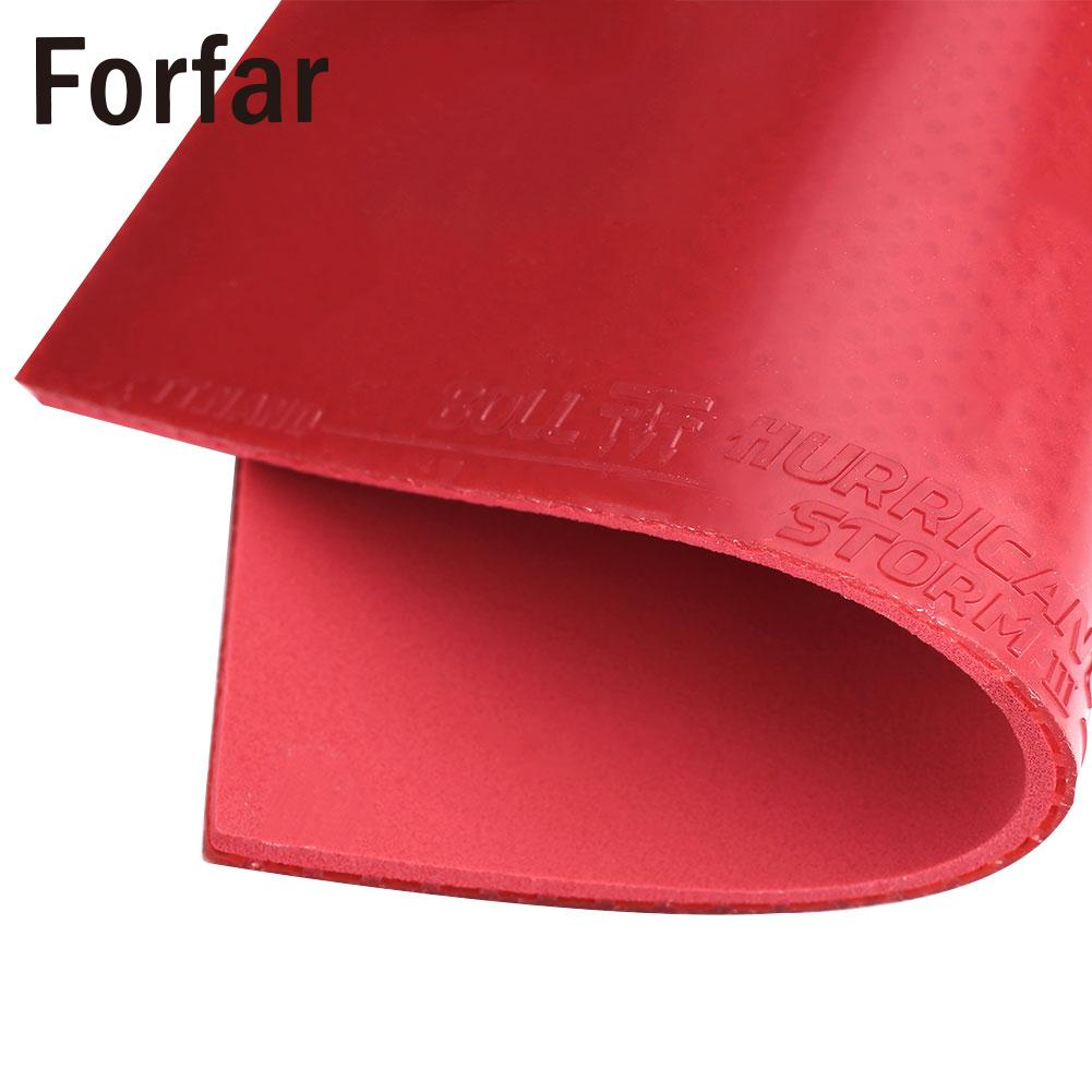 Table Tennis Rubber Portable Sport Red Black Ping Pong Racket Pro Rubber Outdoor Table Tennis Pad Sleeve Gym Useful