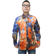 MD bazin riche mens tops african shirts for men long sleeve shirt traditional print clothes 2019 new arrival