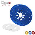 Dyno racing New 2pcs Aluminum Universal Car Racing Disc Decorative Brake Rotor Covers Drum for Vehicle