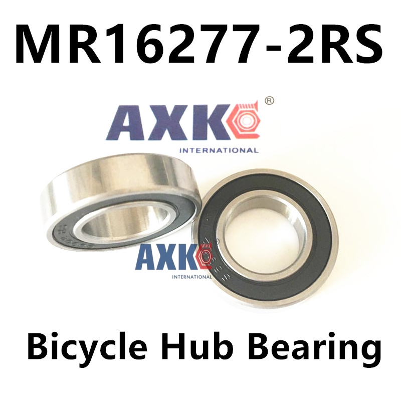 free shipping Bicycle hub bearing 16277- 2RS, MR16277-2RS for Chin Haur Disc/HH series hubs & A2Z XCR/XCF series hubs 16*27*7 mm mountain bike four perlin disc hubs 32 holes high quality lightweight flexible rotation bicycle hubs bzh002