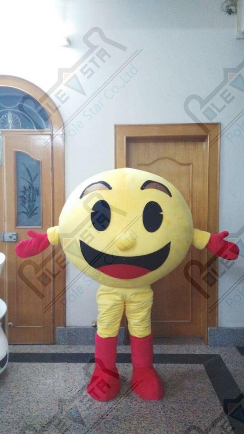 کارتونی طلسم تخم مرغ زرد فروش لباس داغ - ماسک و تن پوش کارتونی