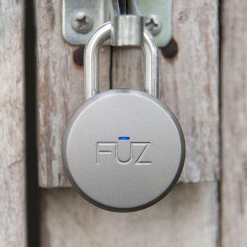 FUZ Noke Keyless Bluetooth Smart Vorhängeschloss Keyless Smart Lock Mobilen iOS/Android app Steuer Tragbare Runde Lock - 3
