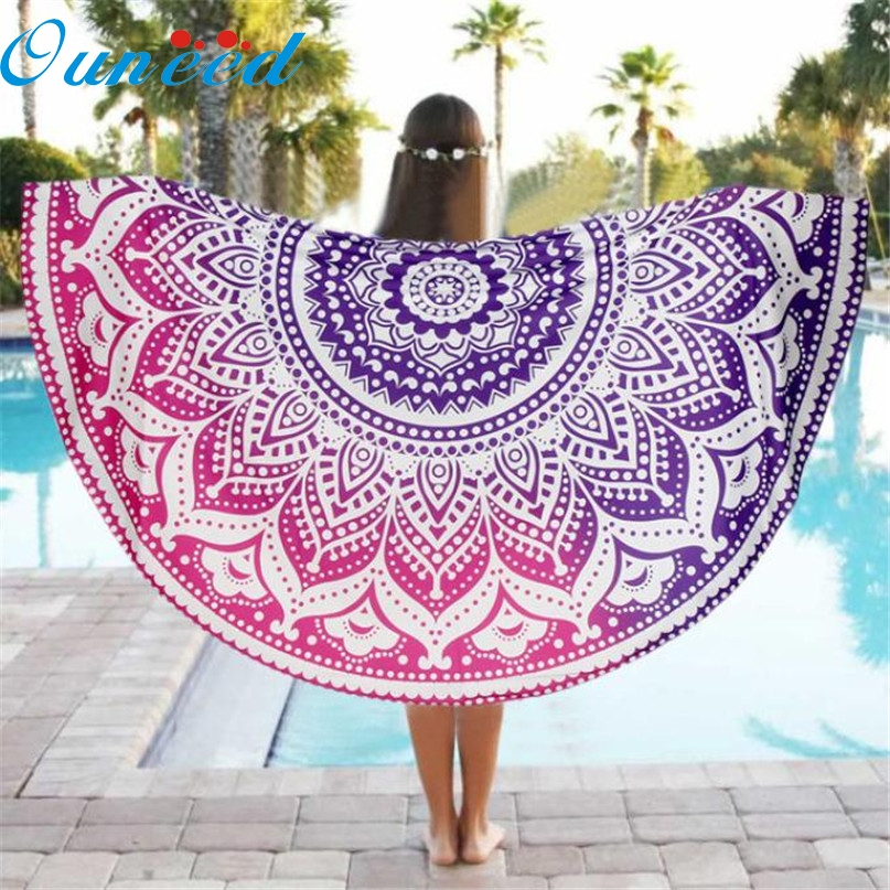 Home Wider Hot Sell Round Beach Pool Home Shower Towel Blanket Table Cloth Yoga Mat Drop Shipping Drop Shipping