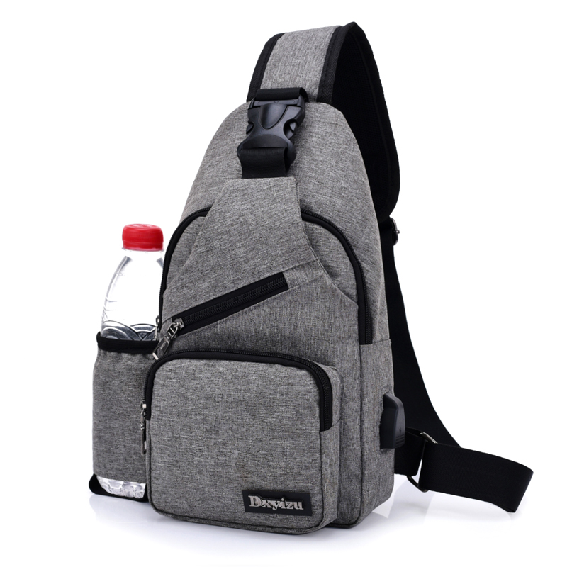 Crossbody bags for women Chest Pack Leisure Travel Sling Bag with One Bottle Bag Brand Oxford Shoulder Chest Sling BagPack Set lskcsh co2 laser tube 700mm 40w glass laser lamp for co2 laser stamp engraving cutting machine laser tube factory wholesale