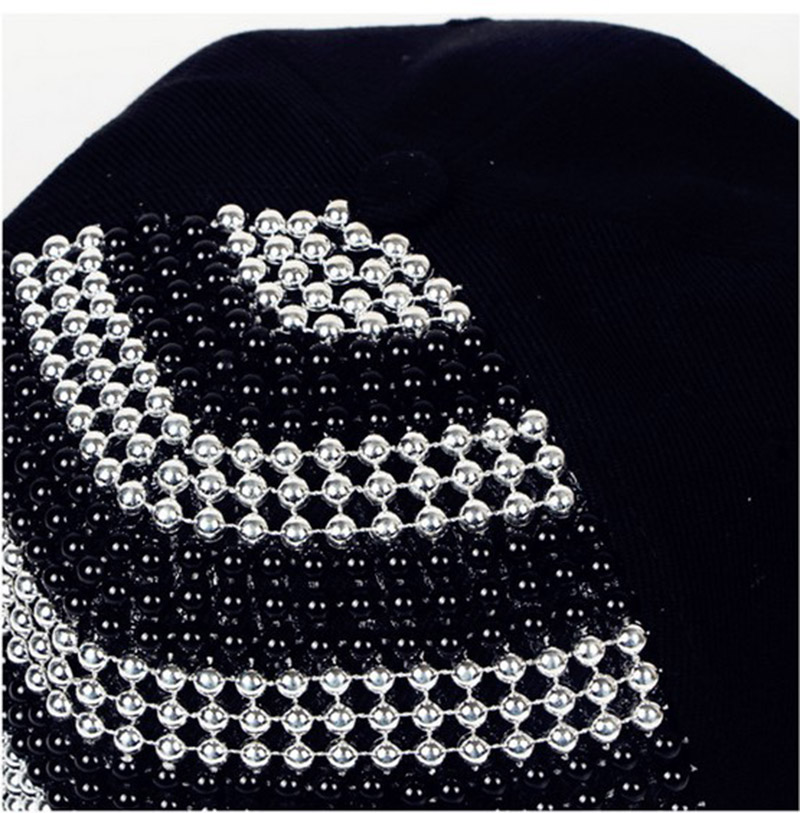 Cool Bigbang Jazz Studded Baseball Hat Hip Hop Gorras Planas Rivet - Аксесоари за облекла - Снимка 6