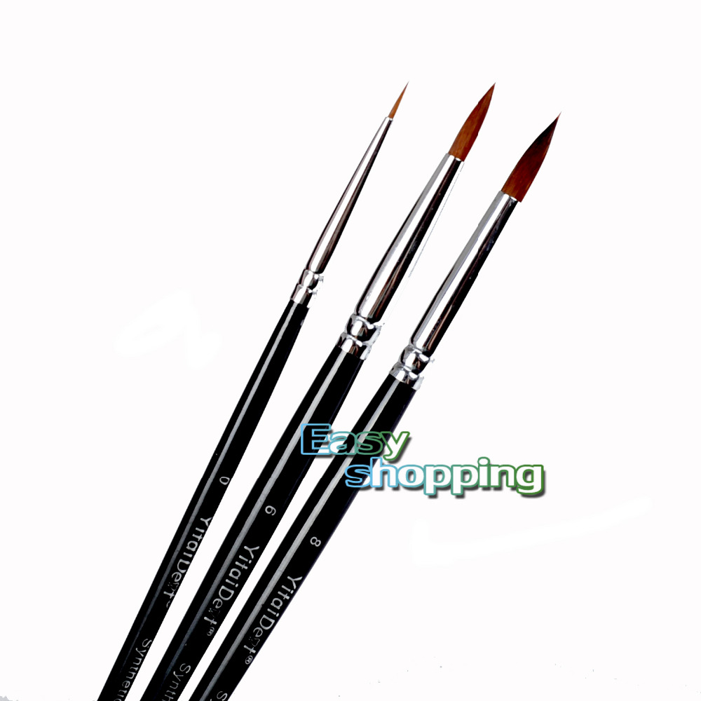 New 3pcs Dental Porcelain Brush Pen 0#  6#  8# Dental Lab EquipmentNew 3pcs Dental Porcelain Brush Pen 0#  6#  8# Dental Lab Equipment