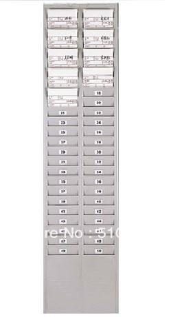 attendance machine frame paper card holder plastic 50 attendance frame card rack - Time Card Holder