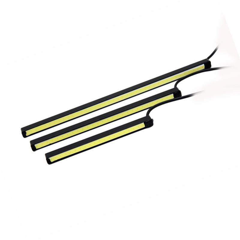 2 Pcs / Set SUNKIA Desain Baru 10 cm / 15 cm / 20 cm DRL LED Daytime - Lampu mobil - Foto 2