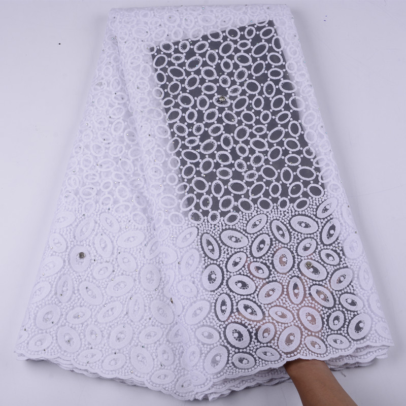2019 Latest French Nigerian Lace Fabrics High Quality Tulle African Lace For Wedding African French Tulle