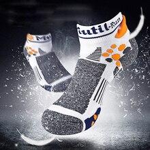 EU39-43 size all season Professional Wicking&Bradyseism Running Sock Quick Dry Calcetines climbing Gym Fitness men sport socks