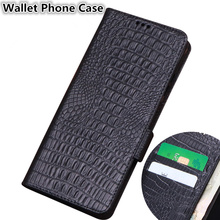 Business Style Genuine Leather Wallet Case Card Slots Holder For Huawei Honor 8X Max/Huawei Honor 8X Holster Cover Coque