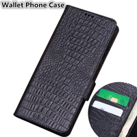 Business Style Genuine Leather Wallet Case Card Slots Holder For Huawei P Smart Z/Huawei P Smart Holster Cover Conque