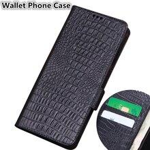 Stile di affari Genuine Cassa di Cuoio Del Raccoglitore Slot Per Schede di Supporto Per Huawei Honor 8X Max/Huawei Honor 8X custodia per Armi Della Copertura coque