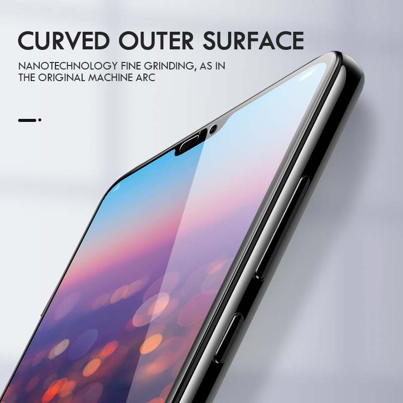 Image 3 - ZNP 15D Screen Protector Tempered Glass For Huawei P20 P10 Lite Plus Protective Glass For Huawei P20 Pro Mate 20 10 lite Film-in Phone Screen Protectors from Cellphones & Telecommunications